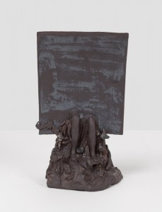 "Melancholy Rectangle in Nature, 2011, 10""x6""x5"", Stoneware"